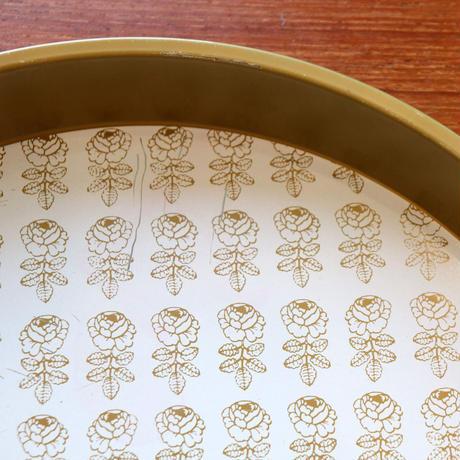 Vintage Marimekko tray  vihkiruusu A