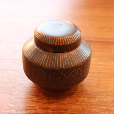 Arabia ceramic jar  Bonbonier