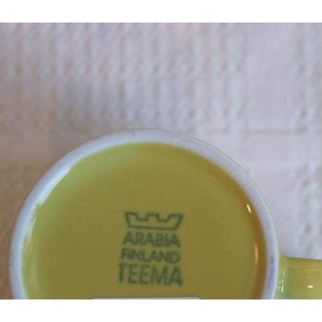 Arabia Teema coffee c/s yellow