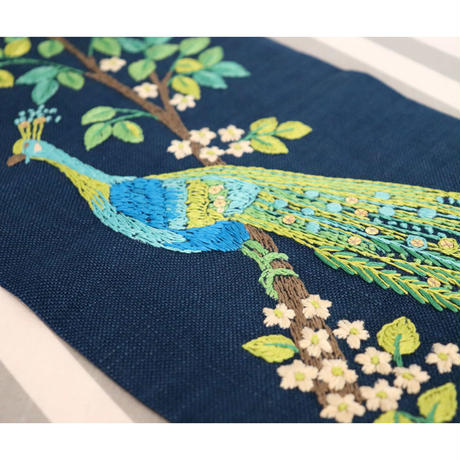 Vintage embroidery hanging tapestry