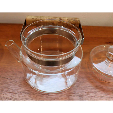 Boda Nova glass teapot and warmer M size