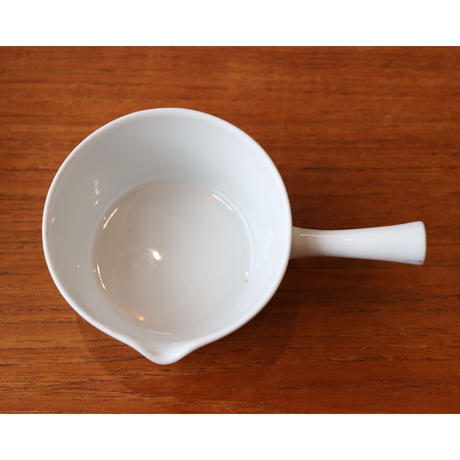 Lyngby porcelain saucepan with a lid