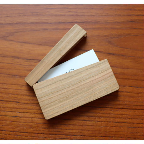 磁石式 名刺ケース ナラ