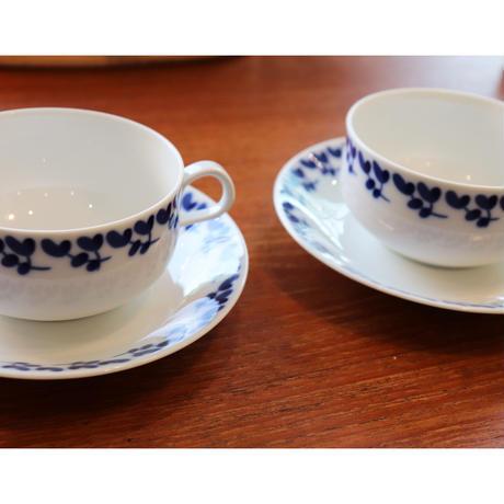 Rorstrand Swedish Blue tea c/s
