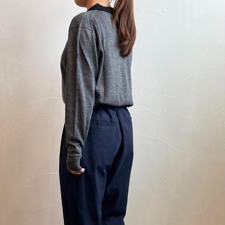 atelier naruse cotton wool knit