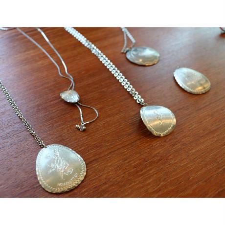 Vintage Saami pewter  Necklace