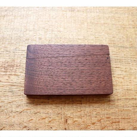 磁石式 名刺ケース ウォールナット