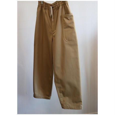 atelier naruse chino balloon pants / beige