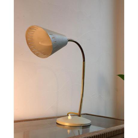 Pale green vintage desk  lamp