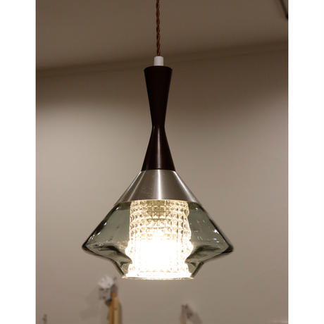 Orrefors  double glass ceiling lamp