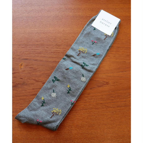 atelier naruse cotton~botanical ~heighsocks