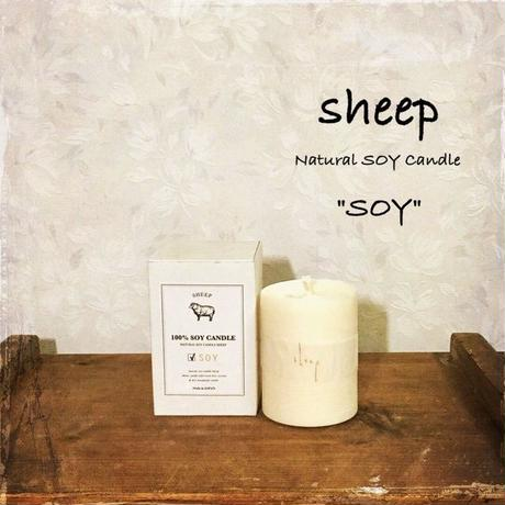 sheep SOY CANDLE soy s