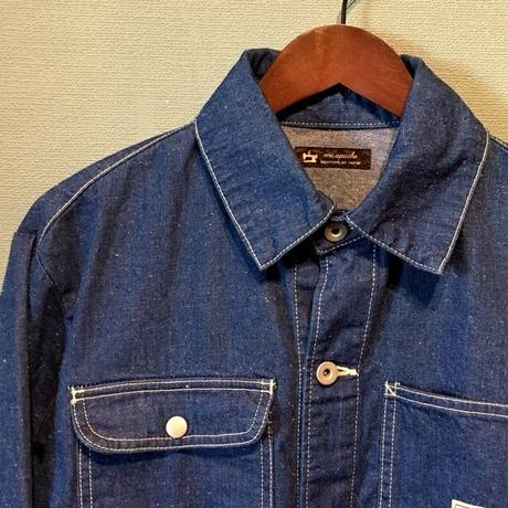 "m.c.apache ""DENIM COVERALL"" Blue"