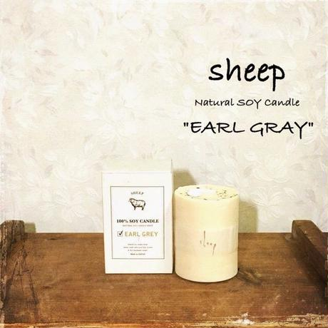 sheep SOY CANDLE earl gray S