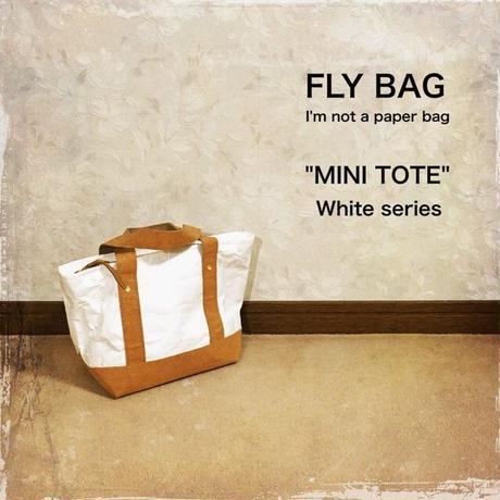 "FLY BAG ""MINI TOTE"" White"