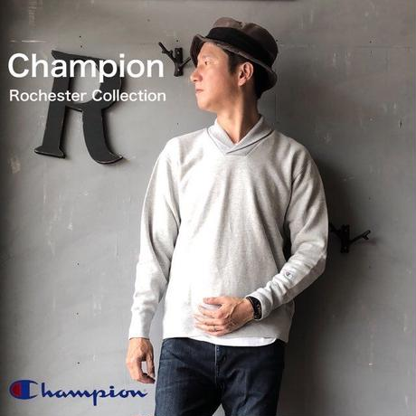 "Champion Rochester Collection ""SHAWL COLLAR SWEAT"" Sl.Gray"