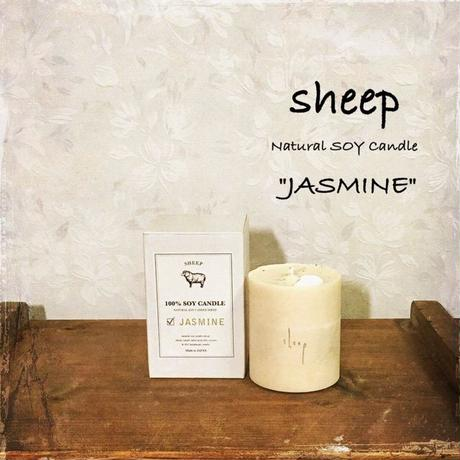 sheep SOY CANDLE jasmine S