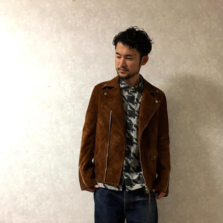"Influence ""BIG千鳥ワイヤーシャツ"" L.Gray"