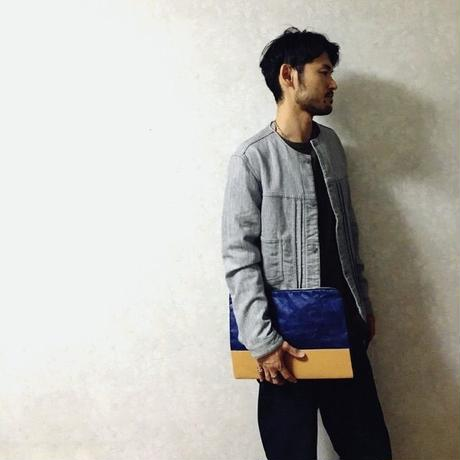 "FLY BAG ""CLUTCH #2"" Navy"