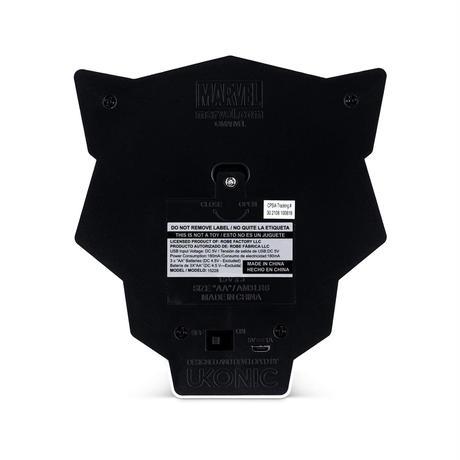 【USA直輸入】MARVEL ブラックパンサー ロゴ ランプ LED ライト マーベル ワカンダ ブラパン BLACK PANTHER