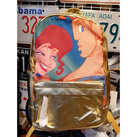 【USA直輸入】DISNEY Hercules ヘラクレス メガラ Oh My Disney バックパック 背面に ペガサス 柄 リュック ディズニー メグ