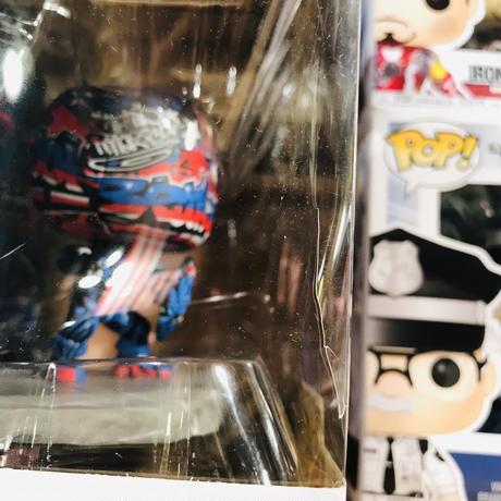 【※破れあり】POP!  MARVEL street Art Collection ストリートアート コレクション デラックス キャプテンアメリカ 752 FUNKO ファンコ フィギュア マーベル