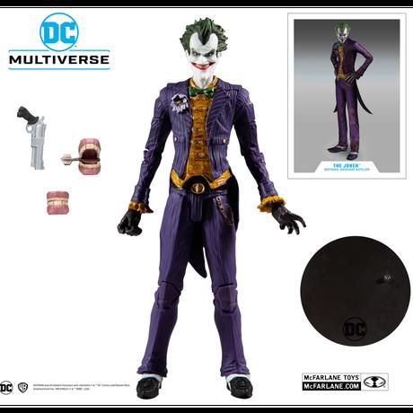DCコミックス マルチバース Multiverse ジョーカー アーカム・アサイラム 7インチ アクション  フィギュア DCマルチバース マクファーレントイズ バットマン 2009年ビデオゲーム版