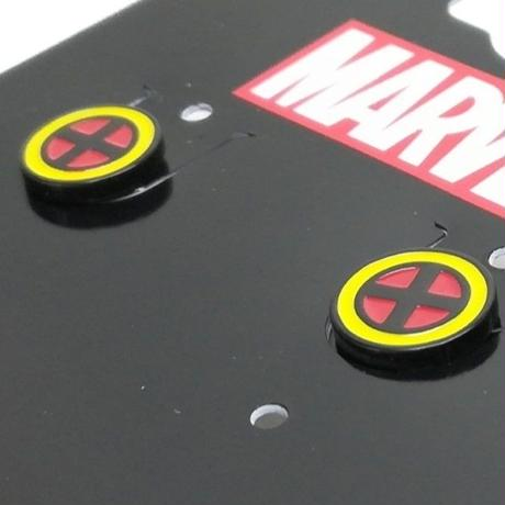 【USA直輸入】MARVEL X- MEN シンボル ロゴ ピアス マーベル Xメン プロフェッサーX  エックスメン  アクセサリー