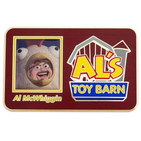 【USA直輸入】Disney トイストーリー Al's Toy Barn  アルのおもちゃ屋  アルズトイバーン ジャンボ  ピンズ toystory ディズニー  ピン バッジ ウッディ バズ