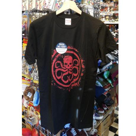 【USA直輸入】MARVEL Hail Hydra ハイル ヒドラ ロゴ  Tシャツ Sサイズ シールド SHIELD アベンジャーズ エージェントオブシールド マーベル