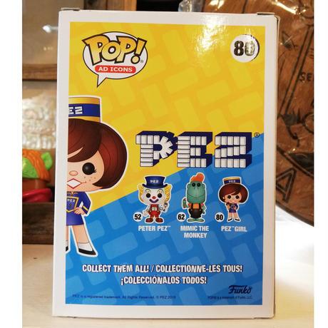 【USA直輸入】POP! AD ICONS PEZ  PEZ GIRL 80 ポップ フィギュア FUNKO ファンコ 企業  ペッツガール ガール 女の子 ユニフォーム