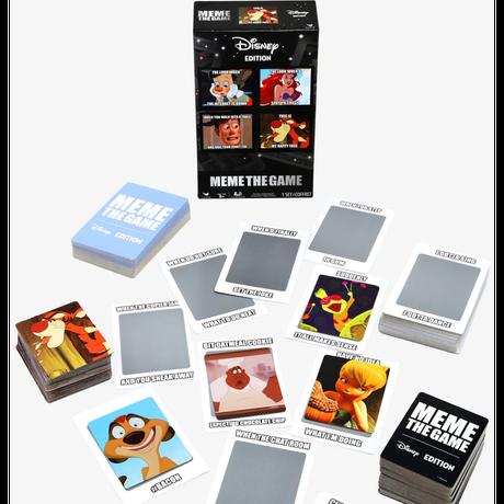 【USA直輸入】Disney ディズニー エディション Meme ミーム・ザ・ゲーム カードゲーム ピクサー トイストーリー ピノキオ アリエル ライオンキング ゲーム