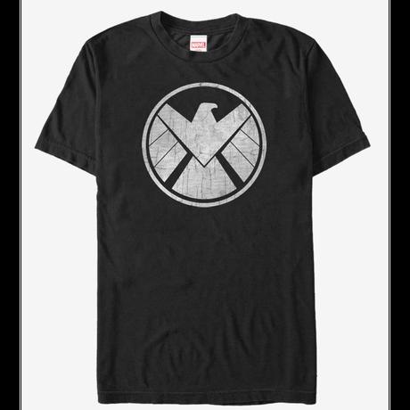 【USA直輸入】MARVEL アベンジャーズ S.H.I.E.L.D シールド ロゴ  Tシャツ Sサイズ SHIELD エージェントオブシールド マーベル
