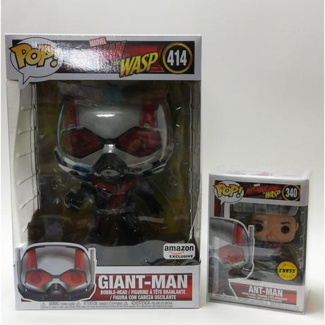 【USA直輸入】POP! MARVEL アントマン & ワスプ  ジャイアントマン 10インチ 414 Ant-Man FUNKO ファンコ フィギュア マーベル アベンジャーズ