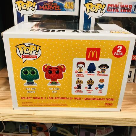 【USA直輸入】POP! マクドナルド フライキッズ 2Pac 限定   ポップ フィギュア FUNKO ファンコ 企業キャラ アド ミールトイ