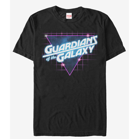 【USA直輸入】MARVEL ガーディアンズオブギャラクシー ロケット メタル Guardians of the Galaxy  レトロ ロゴ Tシャツ Sサイズ マーベル  ガーディアンズ