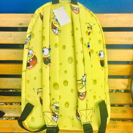 【USA直輸入】スポンジボブ リュック 総柄 フェイス スポンジ・ボブ SpongeBob ニコロデオン
