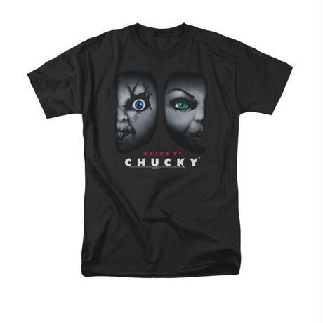 【USA直輸入】Child's Play チャイルドプレイ Chucky  チャッキー ティファニー Tシャツ Sサイズ ホラー ブライドオブチャッキー グッドガイ