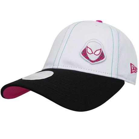 【USA直輸入】MARVEL スパイダーグウェン ロゴ キャップ  9Twenty   スナップバック ニューエラ NEWERA ベースボールキャップ 帽子 マーベル ゴーストスパイダー