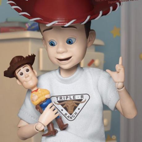 【※ご予約商品・USA直輸入】DISNEY トイストーリー アンディ ダイナミック アクション フィギュア Toy Story  ディズニー ピクサー トイストーリー  ビーストキングダム