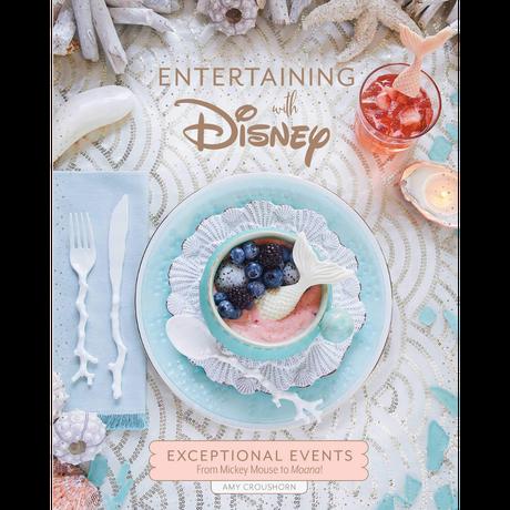 【USA直輸入】DISNEY  リトルマーメイド アリエル 洋書 Entertaining with Disney  イベントプランニング  ガイドブック ディズニー クックブック