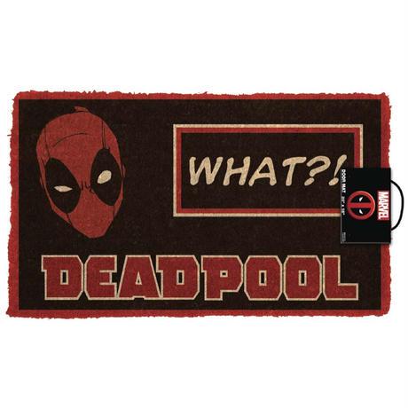 【USA直輸入】MARVEL マーベル デッドプール フェイス ドアマット Deadpool マット  デップ X-MEN
