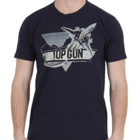 【USA直輸入】映画 トップガン ロゴ ネイビー Tシャツ Sサイズ 海外Tシャツ