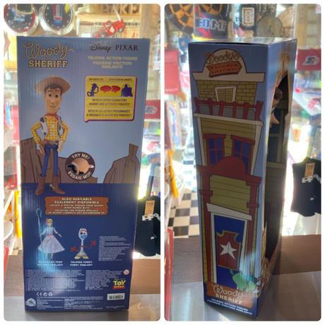 【USA直輸入】DISNEY トイストーリー ウッディ インタラクティブ トーキング アクション フィギュア   Toy Story  ディズニー ピクサー バズ ボニー