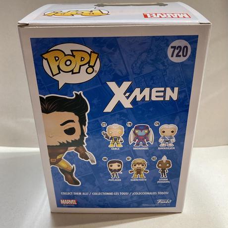 【海外直輸入】POP! MARVEL X-MEN ウルヴァリン 限定 720 ポップ フィギュア FUNKO ファンコ マーベル  エックスメン