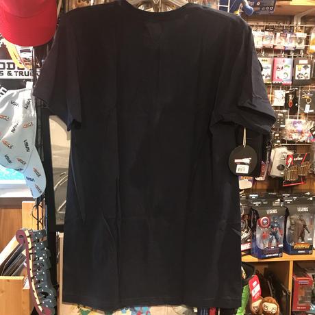 【USA直輸入】DISNEY+  LOKI ロキ TVA バッジ Tシャツ 半そで ネイビー MARVEL マーベル ソー  ドラマ ディズニー プラス Mサイズ