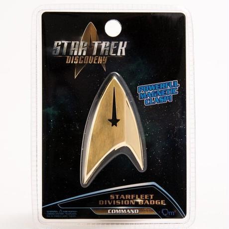 【USA直輸入】スタートレック Discovery コマンド バッヂ マグネット式 エンブレム スタトレ  Star Trek ディスカバリー ロゴ マーク Qmx  command