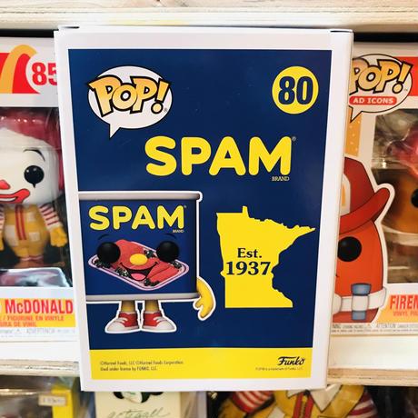 【USA直輸入】POP! スパム SPAM 80 FUNKO ファンコ フィギュア  缶 CAN