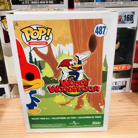 【USA直輸入】POP! ウッディ ウッドペッカー FUNKO ファンコ フィギュア アニメーション ソフビ ビニールフィギュア ユニバーサル USJ ユニバ