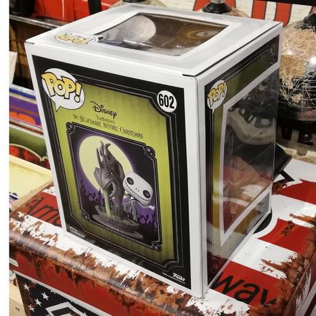 【USA直輸入】POP! DISNEY ムービーモーメンツ ナイトメアビフォアクリスマス ジャック 噴水 蓄光 602 ポップ フィギュア FUNKO ファンコ ディズニー ナイトメア NBC